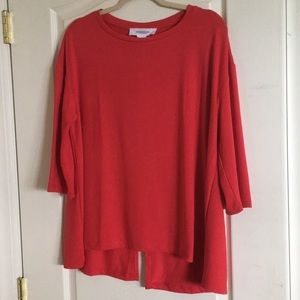 Tops - Pullover top 3/4 length sleeves